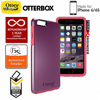 OtterBox Symmetry Series for iPhone 6s / 6 - Damson Berry
