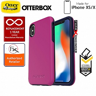 OtterBox Symmetry Series for iPhone XS / X - Mix Berry Jam