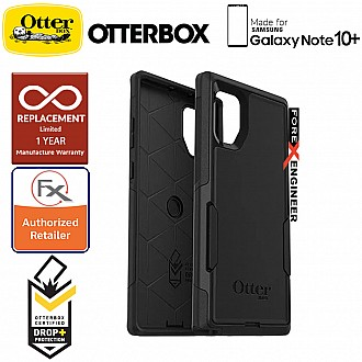 Otterbox Commuter for Samsung Galaxy Note 10+ / Note 10 Plus - 2 Layers Lightweight Protection Case - Black