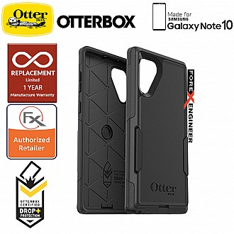 Otterbox Commuter for Samsung Galaxy Note 10 - 2 Layers Lightweight Protection Case - Black