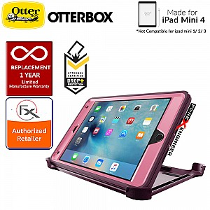 Otterbox Defender Series case for iPad Mini 4 (Not compatible with ipad mini 1/2/3) - Very Berry