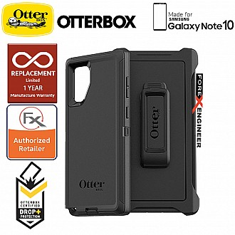 Otterbox Defender for Samsung Galaxy Note 10 - 2 Layers Lightweight Protection Case - Black