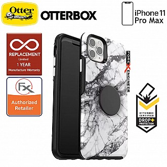 Otterbox OTTER + POP Symmetry for iPhone 11 Pro Max ( White Marble )