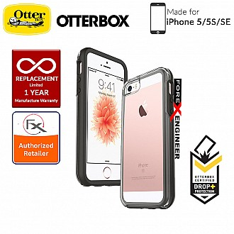OtterBox Symmetry Clear Series for iPhone 5/5s/SE - Black Crystal