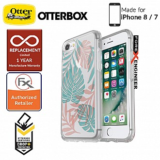 OtterBox Symmetry Clear Series for iPhone 7 / 8 - Easy Breezy (Compatible with iPhone SE 2nd Gen 2020)