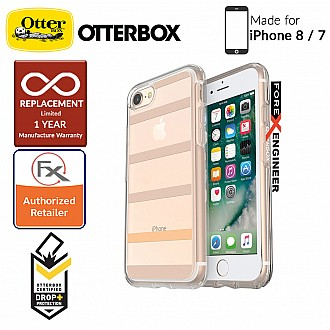 OtterBox Symmetry Clear Series for iPhone 7 / 8 - Inside The Lines (Compatible with iPhone SE 2nd Gen 2020)