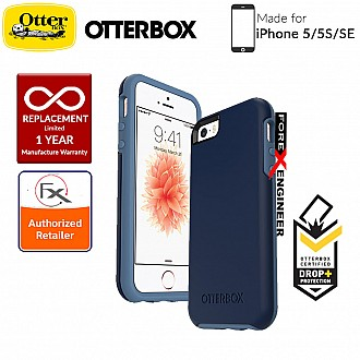 OtterBox Symmetry Series for iPhone 5/5s/SE - Blueberry