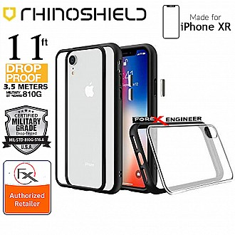 Rhinoshield MOD NX for iPhone XR - 3.5 Meters Impact Protection ( Exceeds Military Standards ) - Black