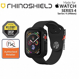 Rhinoshield CrashGuard NX- Apple Watch 44mm (Series 4 / 5 / 6 / SE )  | Black