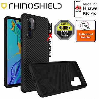 Rhinoshield SolidSuit for Huawei P30 Pro - 3.5 Meters Drop Protection - Carbon Fiber color