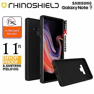 Rhinoshield SolidSuit for Samsung Galaxy Note 9 - 3.5 meters Drop Protection - Classic Black