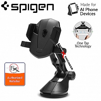 Spigen Car Mount Holder Kuel Signature TS36 -360 Angles with One Tap Technology - Black