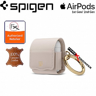 Spigen La Manon Leather for AirPods 2nd Gen / 1st Gen - Pale Pink