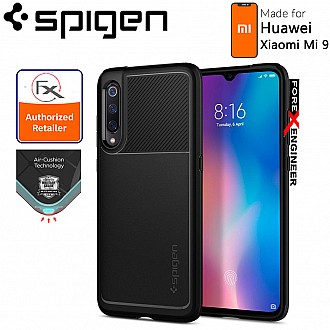 Spigen Rugged Armor for Xiaomi Mi 9 - Protection Case - Matte Black