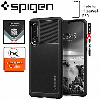 Spigen Rugged Armor for Huawei P30 - Matte Black