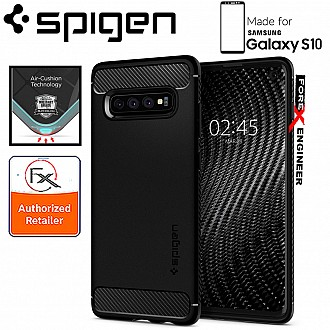 Spigen Rugged Armor for Samsung Galaxy S10 - Matte Black