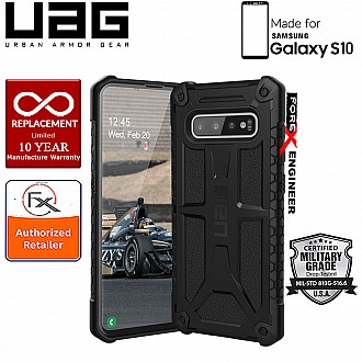 UAG Monarch for Samsung Galaxy S10 - Rugged Military Drop Tested - Black