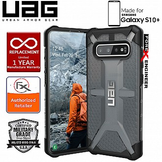 UAG Plasma for Samsung Galaxy S10+ / S10 Plus - Feather-Light Military Drop Tested - Ash