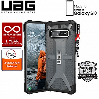 UAG Plasma for Samsung Galaxy S10 - Feather-Light Military Drop Tested - Ash