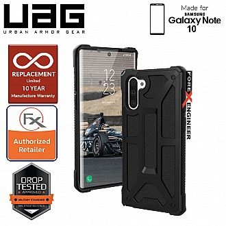 UAG Monarch for Samsung Galaxy Note 10 - Rugged Military Drop Tested - Black