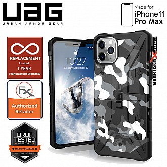 UAG Pathfinder for iPhone 11 Pro Max - Feather Light Rugged & Military Drop Tested - Arctic Camo