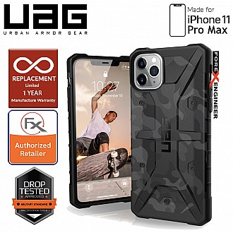 UAG Pathfinder for iPhone 11 Pro Max - Feather Light Rugged & Military Drop Tested - Midnight Camo