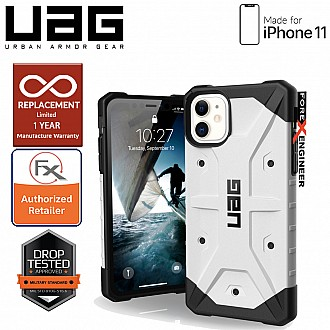UAG Pathfinder for iPhone 11 - Feather Light Rugged & Military Drop Tested - White