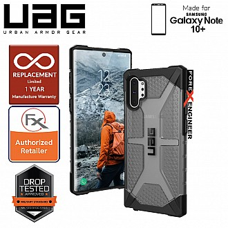UAG Plasma for Samsung Galaxy Note 10+ / Note 10 Plus - Feather-Light Rugged & Military Drop Tested - Ash
