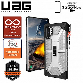 UAG Plasma for Samsung Galaxy Note 10+ / Note 10 Plus - Feather-Light Rugged & Military Drop Tested - Ice