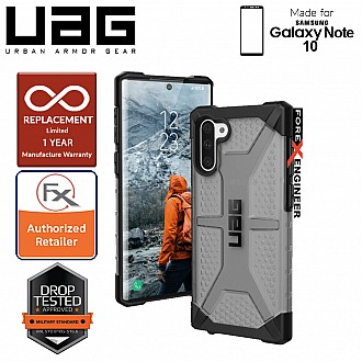 UAG Plasma for Samsung Galaxy Note 10 -  Feather-Light Rugged & Military Drop Tested - Ash