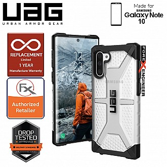 UAG Plasma for Samsung Galaxy Note 10 -  Feather-Light Rugged & Military Drop Tested - Ice