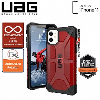 UAG Plasma for iPhone 11 - Feather Light Rugged & Military Drop Tested - Magma