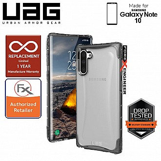 UAG Plyo for Samsung Galaxy Note 10 - Feather-Light Rugged & Military Drop Tested - Ice
