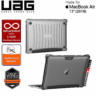 """UAG Plyo for Macbook Air / M1 13"""" ( 2018 - 2020 ) -  Feather-Light Rugged Military Drop Tested - Ice ( Barcode : 812451031676 )"""