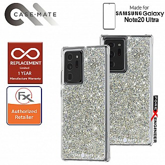 Case Mate Twinkle for Samsung Galaxy Note 20 Ultra 5G 2020 - with Micropel antimicrobial protection ( Stardust ) ( Barcode : 846127195294 )
