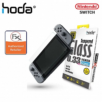 Hoda Tempered Glass 0.33mm Screen Protector for Nintendo Switch - Clear (Barcode : 4712966404063 )