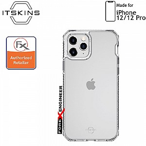 """ITSkins Hybrid Clear for iPhone 12 / 12 Pro 5G 6.1"""" - Clear (Barcode: 4894465898410 )"""