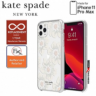 Kate Spade Protective Hardshell for iPhone 11 Pro Max ( Hollyhock ) ( Barcode : 191058101013 )