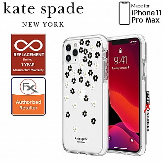 Kate Spade Protective Hardshell for iPhone 11 Pro Max ( Scattered Flowers ) ( Barcode : 191058101105 )