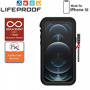 """Lifeproof FRE Waterproof Case for iPhone 12 Pro ONLY  5G 6.1"""" - Black (Barcode: 840104215777)"""