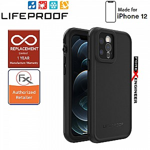 """Lifeproof FRE Waterproof Case for iPhone 12  5G 6.1"""" - Black (Barcode: 840104249574 )"""