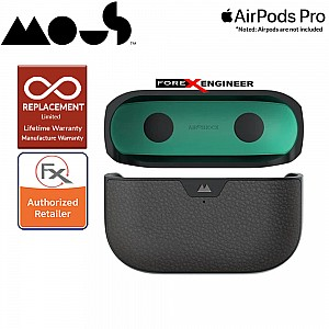 Mous for Airpods Pro Case - Comes with Carabiner Keychain - Black Leather Colour ( Barcode : 5060624483141 )