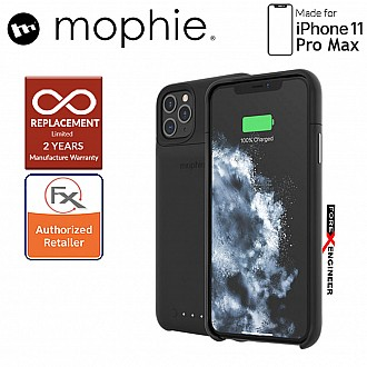 Mophie Juice Pack Access for iPhone 11 Pro Max - 2,000 mAh Built-in Battery Case ( Black ) ( Barcode : 840056110144 )