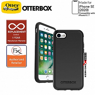 OtterBox Symmetry for iPhone SE 2nd Gen ( 2020 ) Compatible with iPhone 8 / 7 - Black Color ( Barcode: 660543425793 )