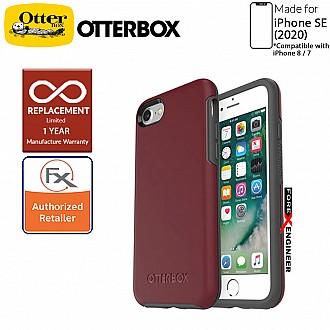 OtterBox Symmetry for iPhone SE 2nd Gen ( 2020 ) Compatible with iPhone 8 / 7 - Fine Port Color ( Barcode: 660543425809 )