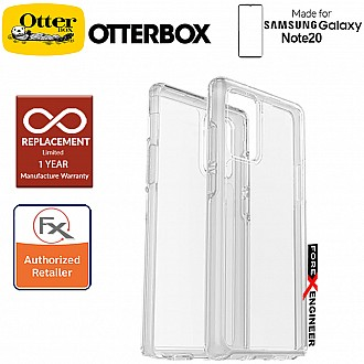 Otterbox Symmetry Clear for Samsung Galaxy Note 20 5G 2020 ( Clear ) ( Barcode : 840104214237 )