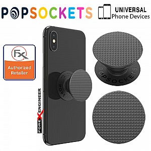 PopSockets PopGrip  Swappable - Knurled Testure Black Colour ( Barcode : 842978167183 )