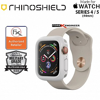 Rhinoshield CrashGuard NX for Apple Watch Series 5 / 4 - 44mm ( White ) ( Barcode: 4710227238815 )