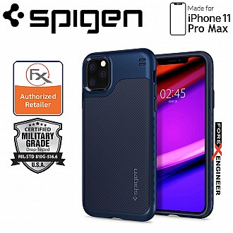 Spigen Hybrid NX for iPhone 11 Pro Max ( Navy Blue ) ( Barcode: 8809640258909 )
