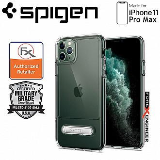 Spigen Slim Armor Essential S for iPhone 11 Pro Max ( Crystal Clear ) ( Barcode: 8809640258947 ) SPIGEN